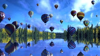 """Peaceful Music, Sleep Music, Spa Music, Relaxation Music """"Flying Through Clouds"""" by Tim Janis"""