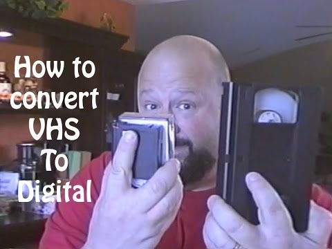 How to convert VHS to digital
