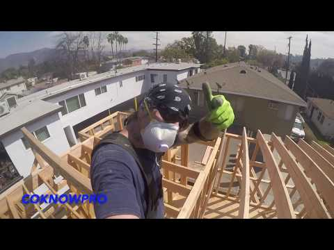 How to Install Roof Rafters Solo by CoKnowPro (YouTube)