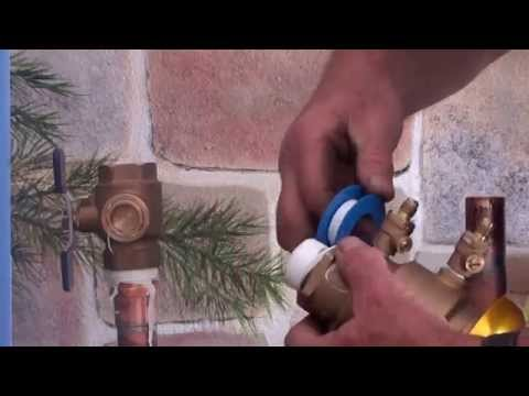 How to replace ball valve
