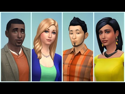 How to get 4 sims live in one house-Sims freeplay
