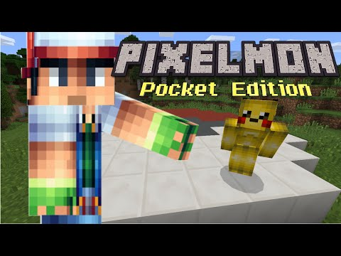 Pokemon in Pocket Edition?! | Minecraft PE Skit