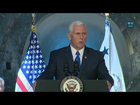 Vice President Pence Hosts National Space Council