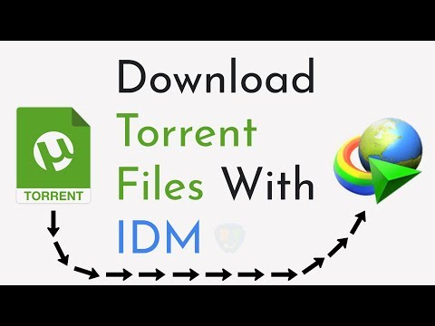 How To Download Torrent Files With IDM (Internet Download Manager)