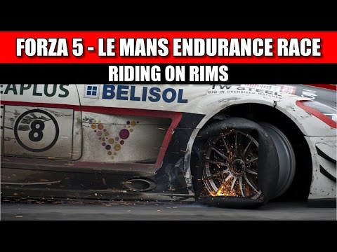 Forza 5 - Running Out Of Rubber -  Final Laps of Le Mans