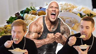 Så mycket äter Dwayne