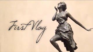 FIRST VLOG | janine