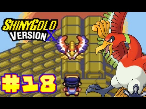 Let's Play Pokemon Shiny Gold Version X Part 18 - Catching Ho-Oh