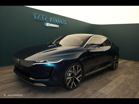 Tata H5X SUV, 45X Hatchback and eVision Sedan at Geneva International Motor Show 2018