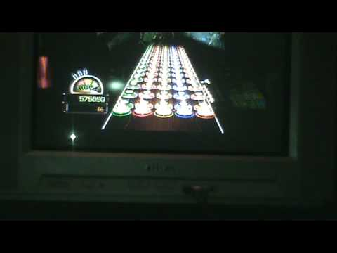 Guitar hero World TOUR FIRST TO GET 1000000 POINTS SOLO