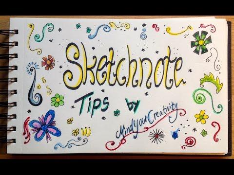 Basic Sketchnote Tips