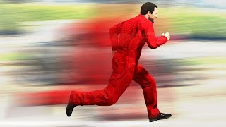 GTA 5 - PLAYING as the WORLD'S FASTEST MAN!