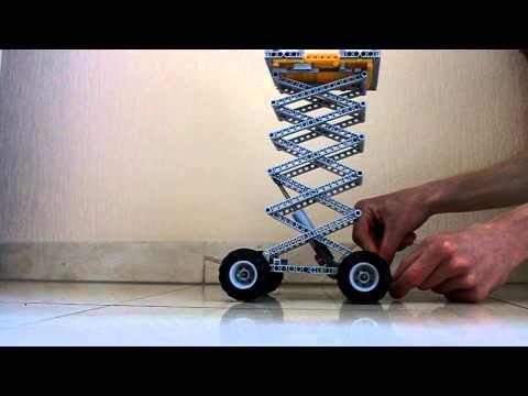 Lego technic scissor lifts