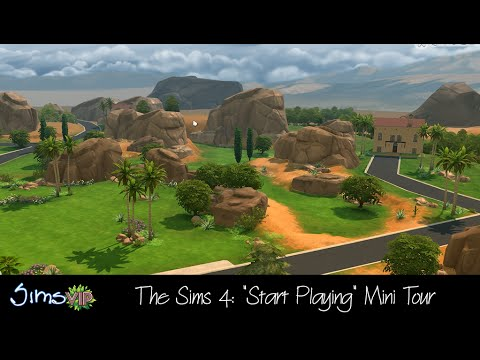 The Sims 4 Mini Tour: Starting Up Your Game