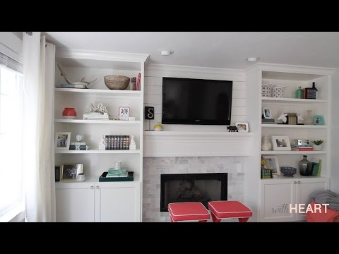 DIY Built-ins Part 2 | withHEART