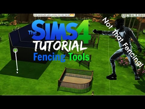 Sims 4 Tutorial #3 - Fencing