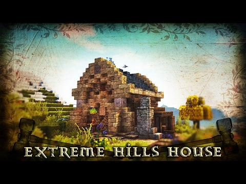 [Minecraft Tutorial] Simple Extreme Hills Biome/Dwarven House