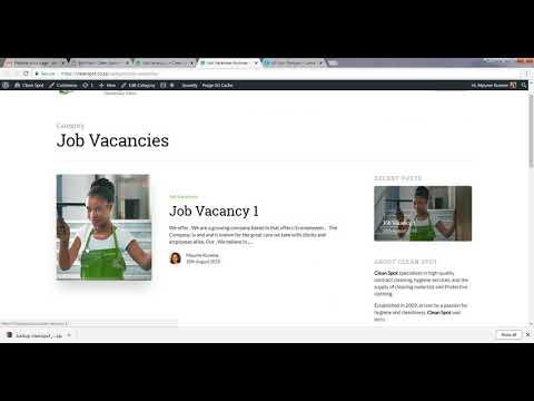 WordPress Website Tutorial 2 of 6