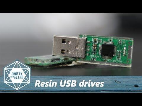 Making a resin USB drive