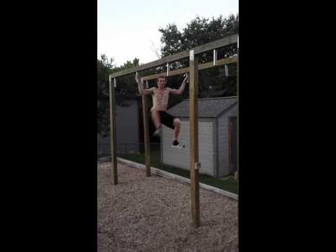 Homemade Ninja Warrior Course-The Pole Grasper!!