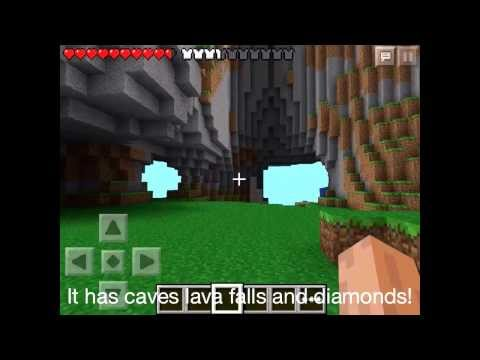 Minecraft pe seed Nyan