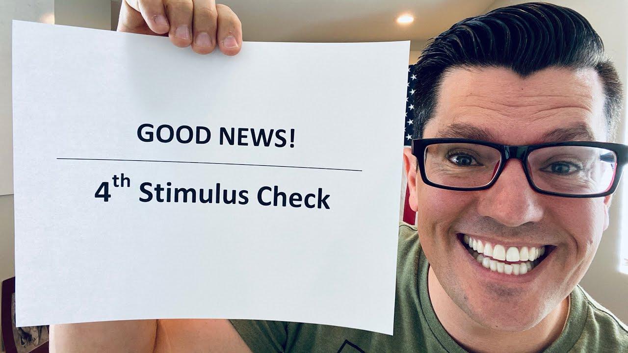 GOOD NEWS! | Fourth Stimulus Check Update | Bi-Partisan Bill Reached