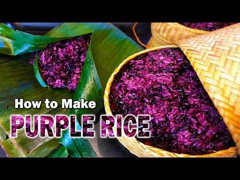 Let's make purple rice!!!