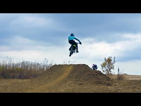 Pit Bikes Are Awesome! | Backyard Pit Bike Track | 2016