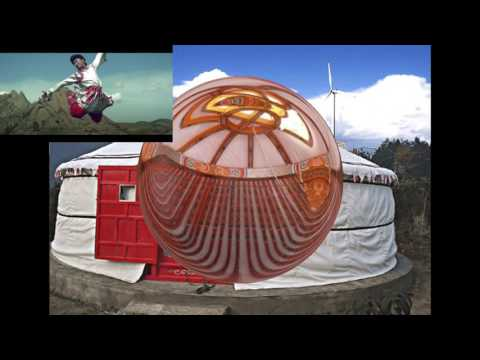 made in Mongolia yurt