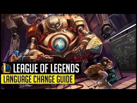 Change Language in League Of Legends