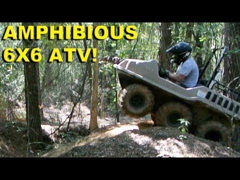 Amphibious 6x6 ATV!