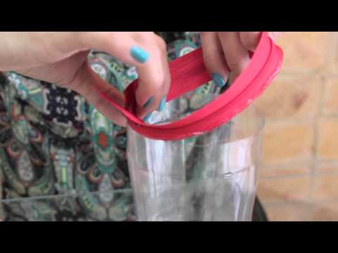DIY Recycled Plastic Bottle Pencil Case