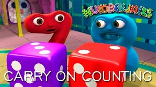 NUMBERJACKS | Carry On Counting | S2E8