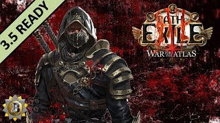 [3.5] Flicker Strike Build - Trickster Shadow - Path Of Exile War For The Atlas - Betrayal
