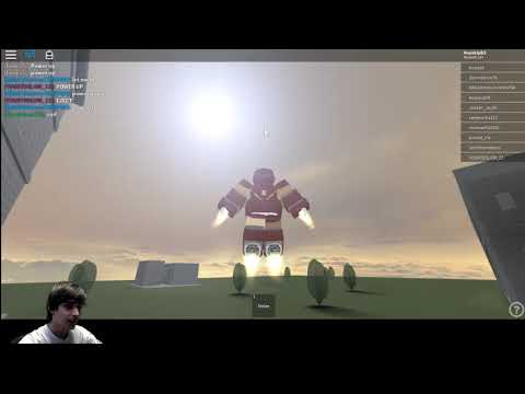FLYING AROUND AT THE SPEED OF SOUND! Roblox Iron Man Scripting