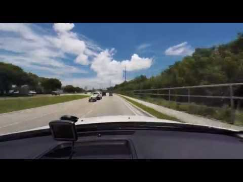 Time Lapse (Florida) - Drive from Key West to Key Largo