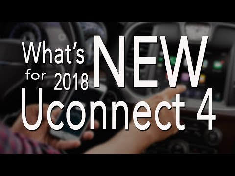 What's New for Uconnect 4