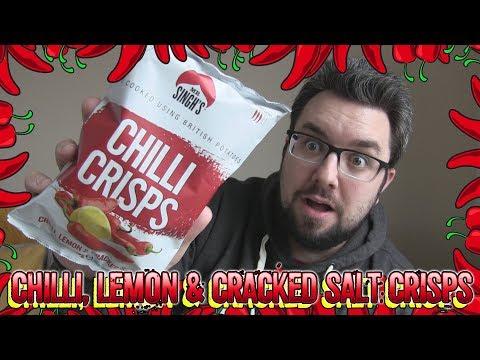 Mr Singhs Crisps Chilli, Lemon & Cracked Salt Review