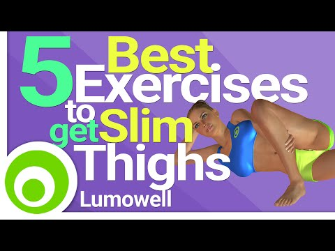 5 Best Exercises to get Slim Thighs