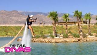 Lana, Rusev, Naomi and Renee Young go on an aquatic adventure: Total Divas Bonus Clip: Jan. 18, 20..