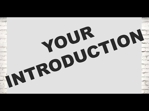 Your introduction (Legal Cover Letters Part 14/21)