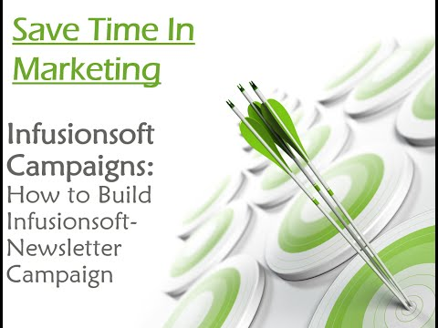 Infusionsoft Campaign Builder: How to Build Free Newsletter Campaign (In Less than 6Mins)