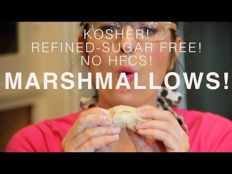 Homemade Paleo, Kosher MARSHMALLOWS!