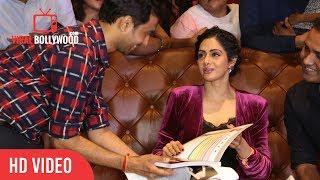 Fans Gift To Sridevi | Sridevi Die Heart Fan | Mom Success Screening