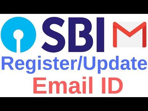 SBI Email ID Update or Registration. Online through SBI Net Banking
