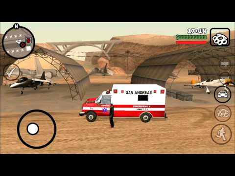 Gta San Andreas how to get a jumbo plane and a jet on iPhone