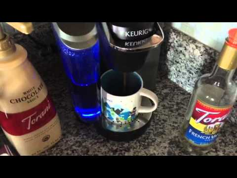 Homemade Starbucks Coffee with Keurig K Cup for under a buck