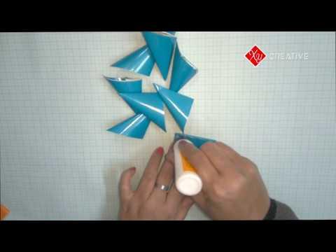 How to make kusudama flower (Paper Art Flower)