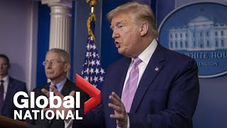 "Coronavirus outbreak: Trump wants to end COVID-19 ""war,"" says he is ""very disappointed"" in 3M 