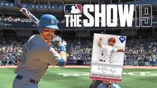 98 Signature Jim Edmonds Debut! | MLB The Show 19 | Ranked Seasons